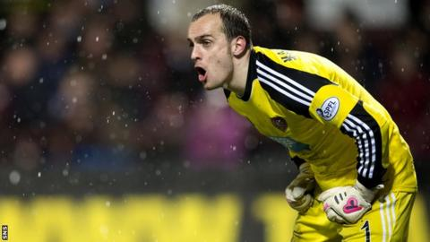Former Hearts goalkeeper Jamie MacDonald has signed for Falkirk