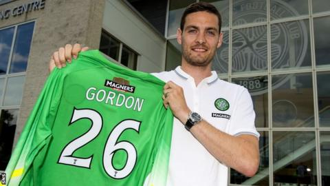 Craig Gordon signs for Celtic