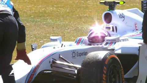 British Grand Prix first practice highlights: Disaster for Williams