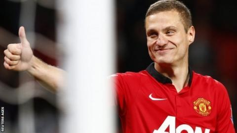 Nemanja Vidic, former Manchester United defender is now at Inter Milan
