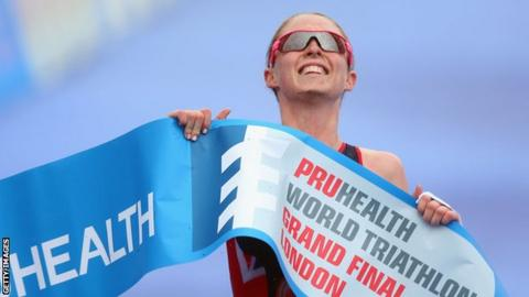 Non Stanford wins the 2013 World Triathlon title