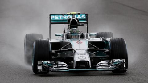 British Grand Prix: Highlights of frantic qualifying session