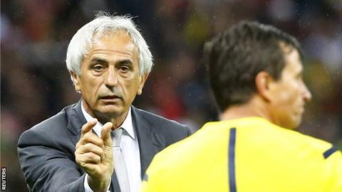 Former Algeria manager Vahid Halilhodzic