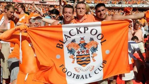 Blackpool FC fans