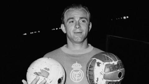 Real Madrid legend Alfredo di Stefano