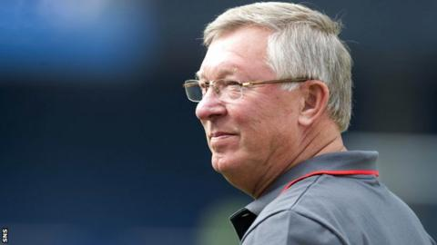 Sir Alex Ferguson paid tribute to Alfredo Di Stefano