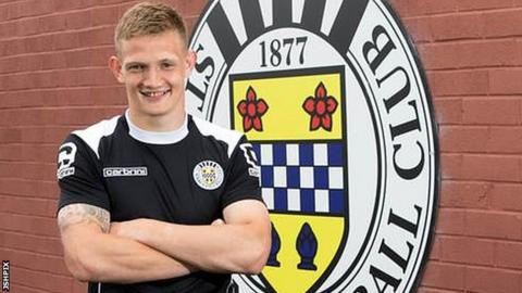 Striker Ross Caldwell has signed for St Mirren