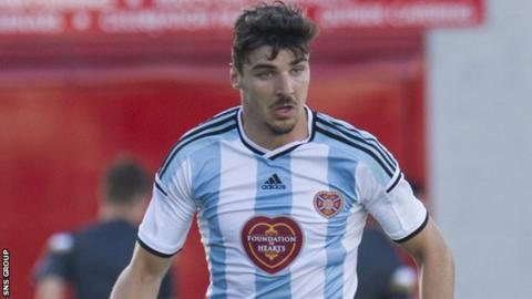 Callum Paterson made his league debut for Hearts as a 17-year-old in August 2012
