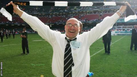 John Kear pictured in Cardiff in 2005