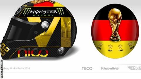 Nico Rosberg's proposed helmet design