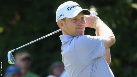 Stephen Gallacher opened with a round of 70