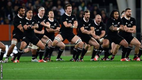 New Zealand rugby union team