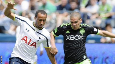 Tottenham winger Andros Townsend