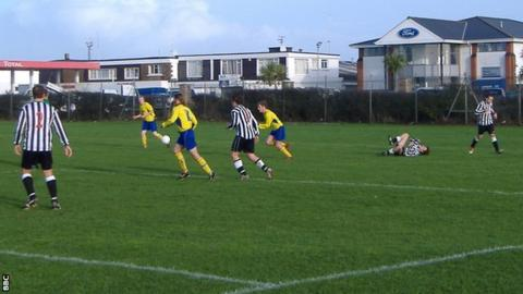 Magpies FC in action