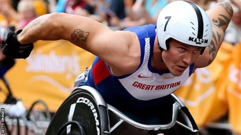 David Weir of Great Britain and Northern Ireland