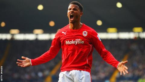 Fraizer Campbell has moved from Cardiff City to Crystal Palace