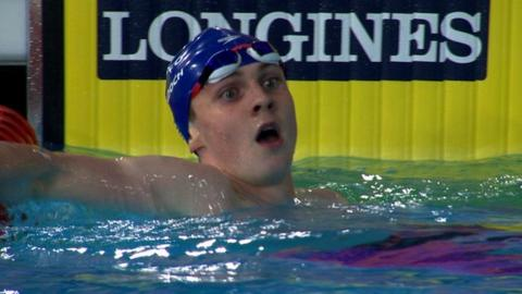Glasgow 2014: Ross Murdoch bests Michael Jamieson in 200m breaststroke