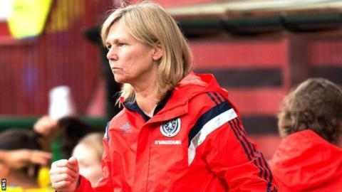 Scotland coach Anna Signeul has named her squad for the match with Wales