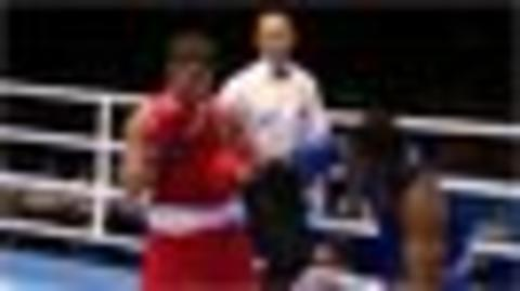 Glasgow 2014: England's Scott Fitzgerald lands first boxing KO