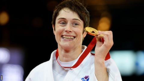 Scottish Judoka Sarah Clark
