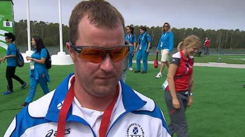 Glasgow 2014: Skeet shooter Drew Christie