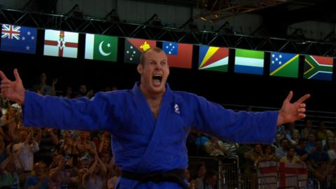 Chris Sherrington wins Scotland's sixth judo Commonwealth judo gold of Glasgow 2014