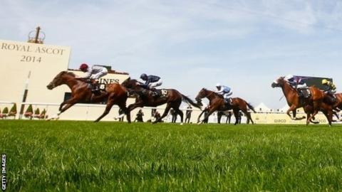 Toronado winning at Royal Ascot