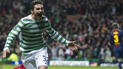 Striker Tony Watt rose to prominence with his goal in the victory over Barcelona