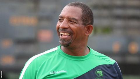 Ireland coach Phil Simmons played in the World Cup for West Indies