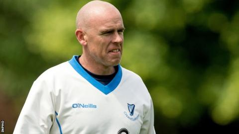 Trent Johnston made 198 appearances for Ireland