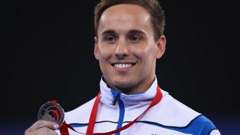 Scotland's Dan Keatings wins silver