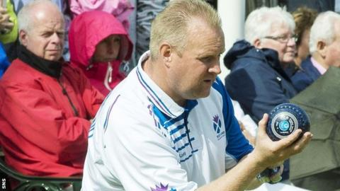 Scottish bowler Darren Burnett
