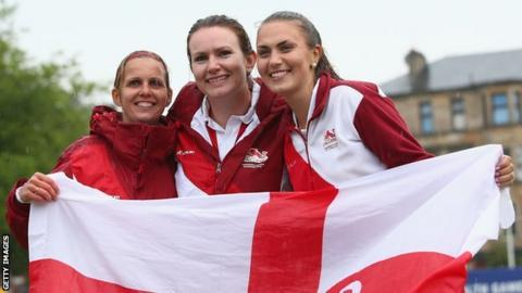 Ellen Falkner, Sian Gordon and Sophie Tolchard
