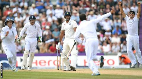 Moeen Ali and England celebrate