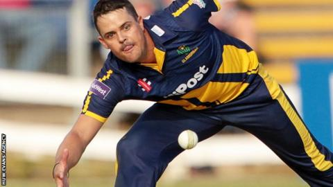 Jacques Rudolph is a worry for Glamorgan with a jarred shoulder