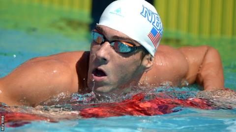 Michael Phelps at the US National Championships
