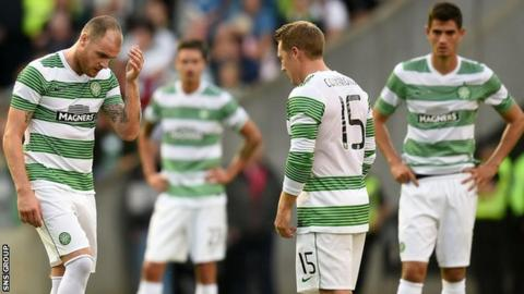 Celtic lost 2-0 at home to Legia Warsaw on Wendesday