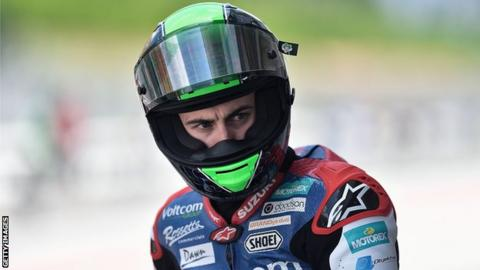Eugene Laverty during the World Superbike round in Malaysia in June