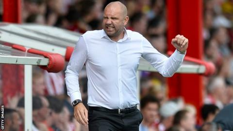 Charlton manager Bob Peeters