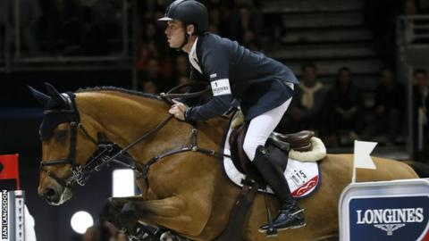 Britain's Scott Brash in action