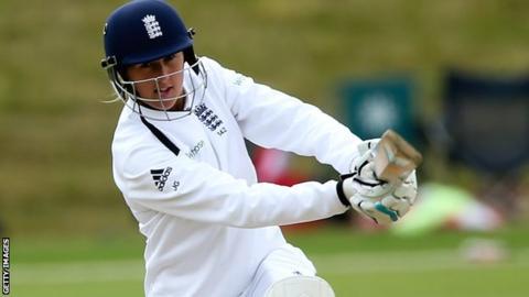 England's Jenny Gunn