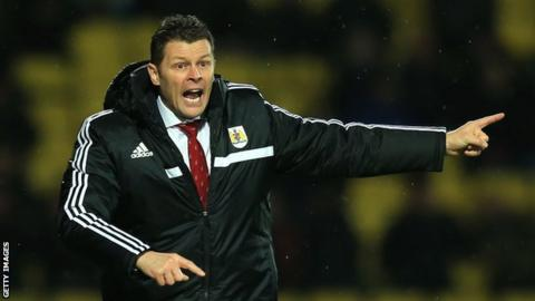 Bristol City boss Steve Cotterill