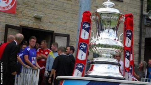 The FA Cup at Fairford Town