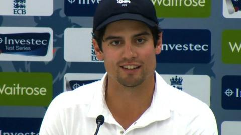 Alastair Cook salutes 'almost perfect' England