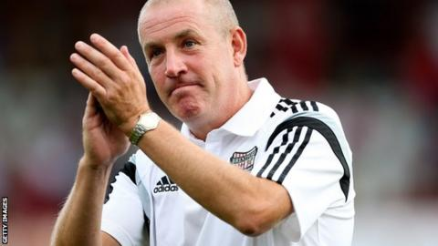 Brentford boss Mark Warburton