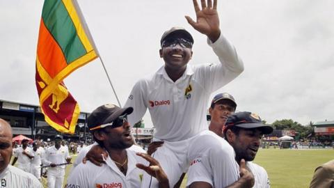 Mahela Jayawardene bowed out of Test cricket with a win over Pakistan