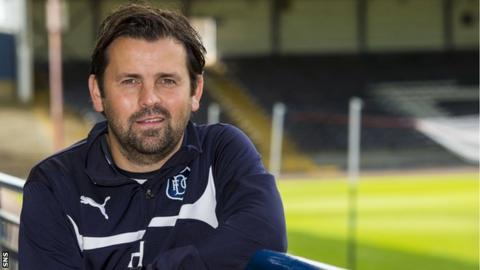 Dundee manager Paul Hartley