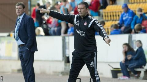 Derek McInnes felt his side were too indulgent with their play as they lost 1-0 to St Johnstone