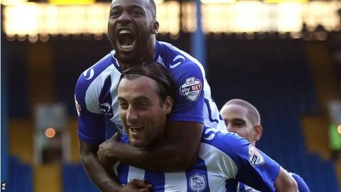 Sheffield Wednesday forward Atdhe Nuhiu