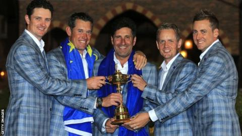 Ryder Cup winners